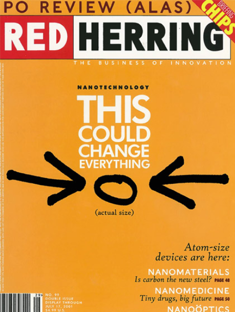 Red Herring Magazine Cover